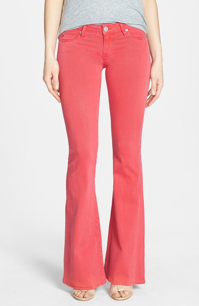 HUDSON JEANS 'Mia' Flared Jeans, Main, color, 620