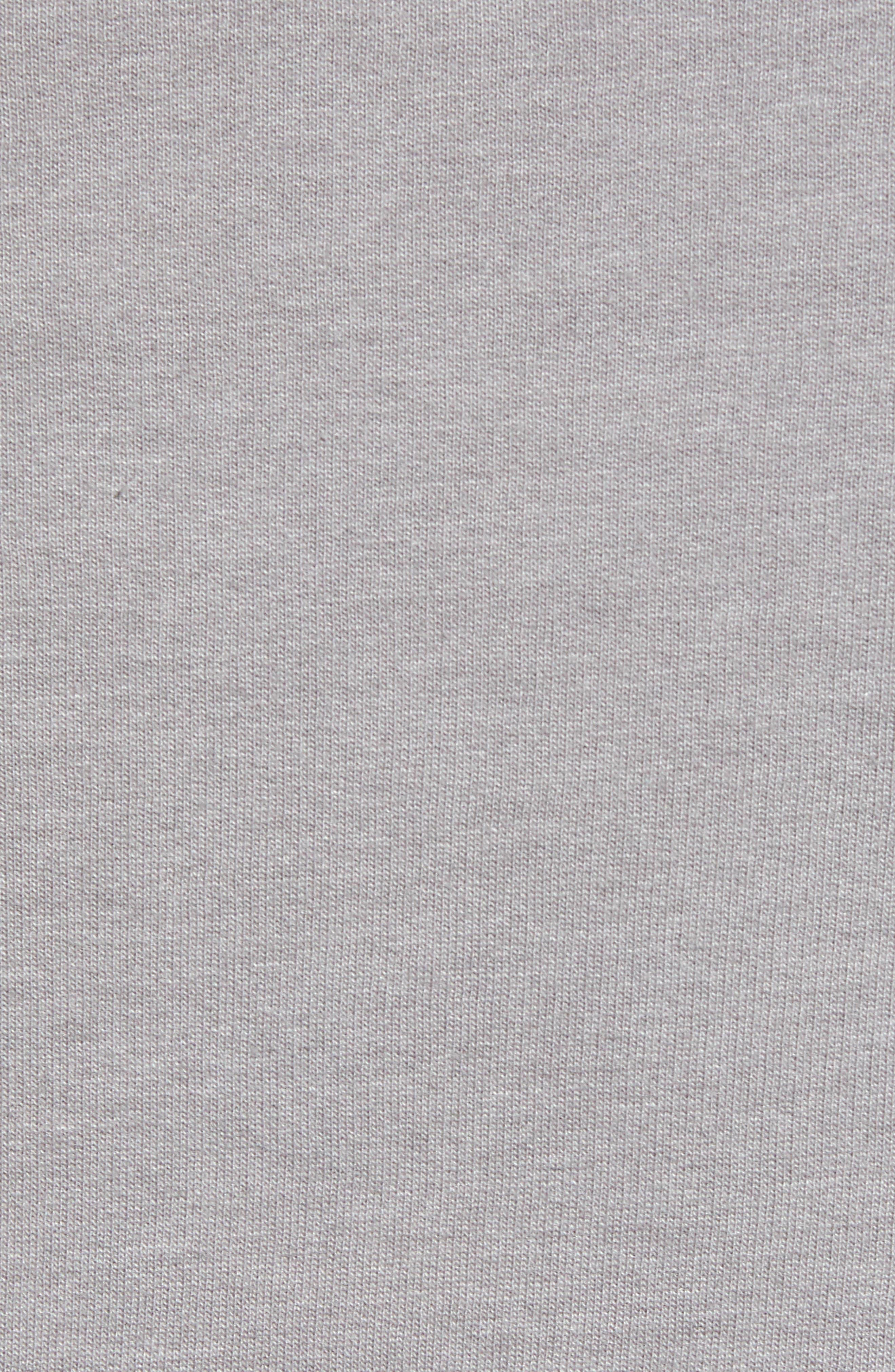 ,                             Fitz Roy Hex Logo Sweatshirt,                             Alternate thumbnail 5, color,                             FEATHER GREY