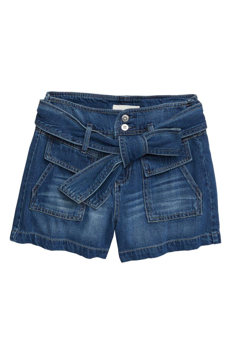 HABITUAL Janie High Waist Denim Shorts, Main, color, 400
