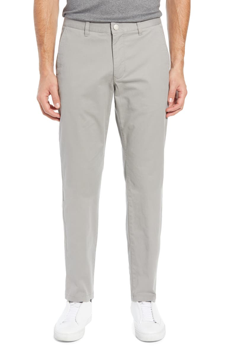 BONOBOS Athletic Stretch Washed Chinos, Main, color, GREY DOGS