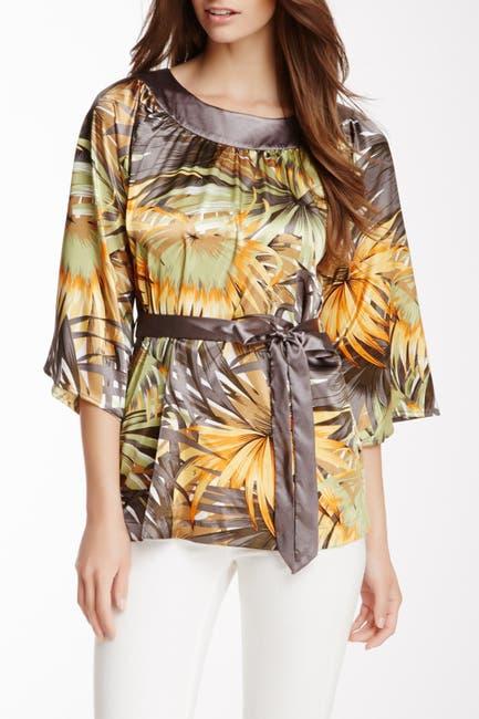 Image of Vertigo Printed Woven Blouse