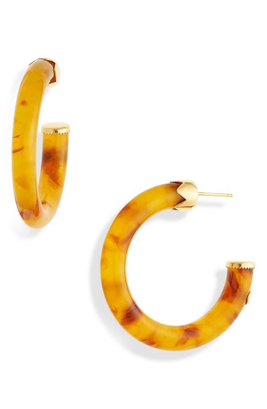 Gas Bijoux SMALL CAFTAN HOOP EARRINGS