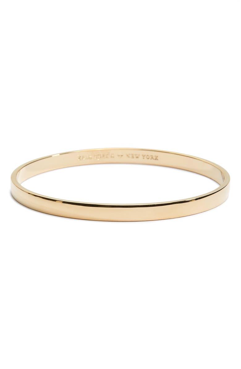 KATE SPADE NEW YORK idiom - heart of gold bangle, Main, color, 710