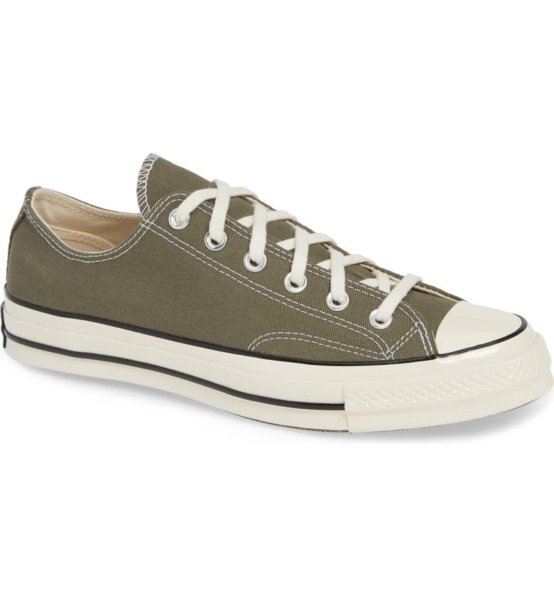 CONVERSE Chuck Taylor<sup>®</sup> All Star<sup>®</sup> '70 Low Sneaker, Main, color, FIELD SURPLUS/ BLACK/ EGRET