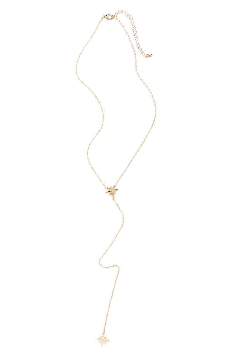 BP. 'Bam' Lariat Necklace, Main, color, 710