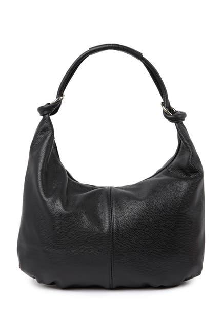 Image of Giulia Massari Top Handle Leather Shoulder Bag