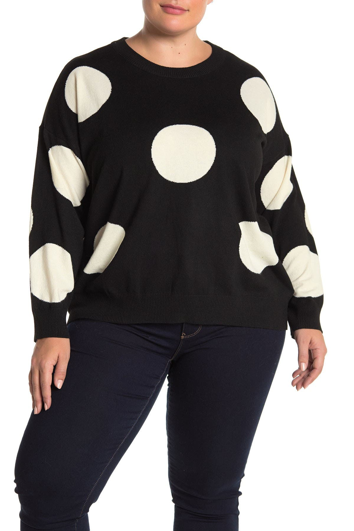 Image of T Tahari Crew Neck Sweater