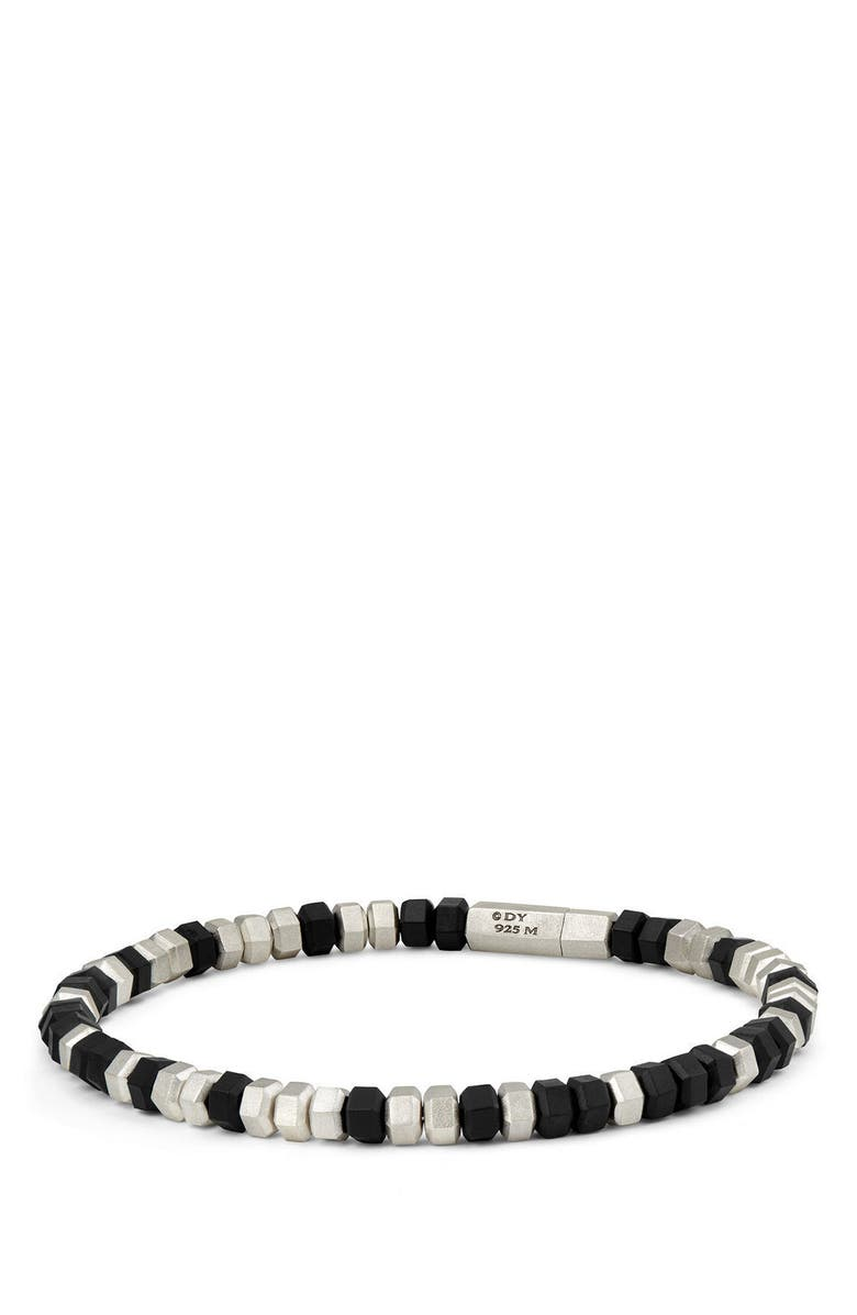 DAVID YURMAN Hex Bead Bracelet, Main, color, 001