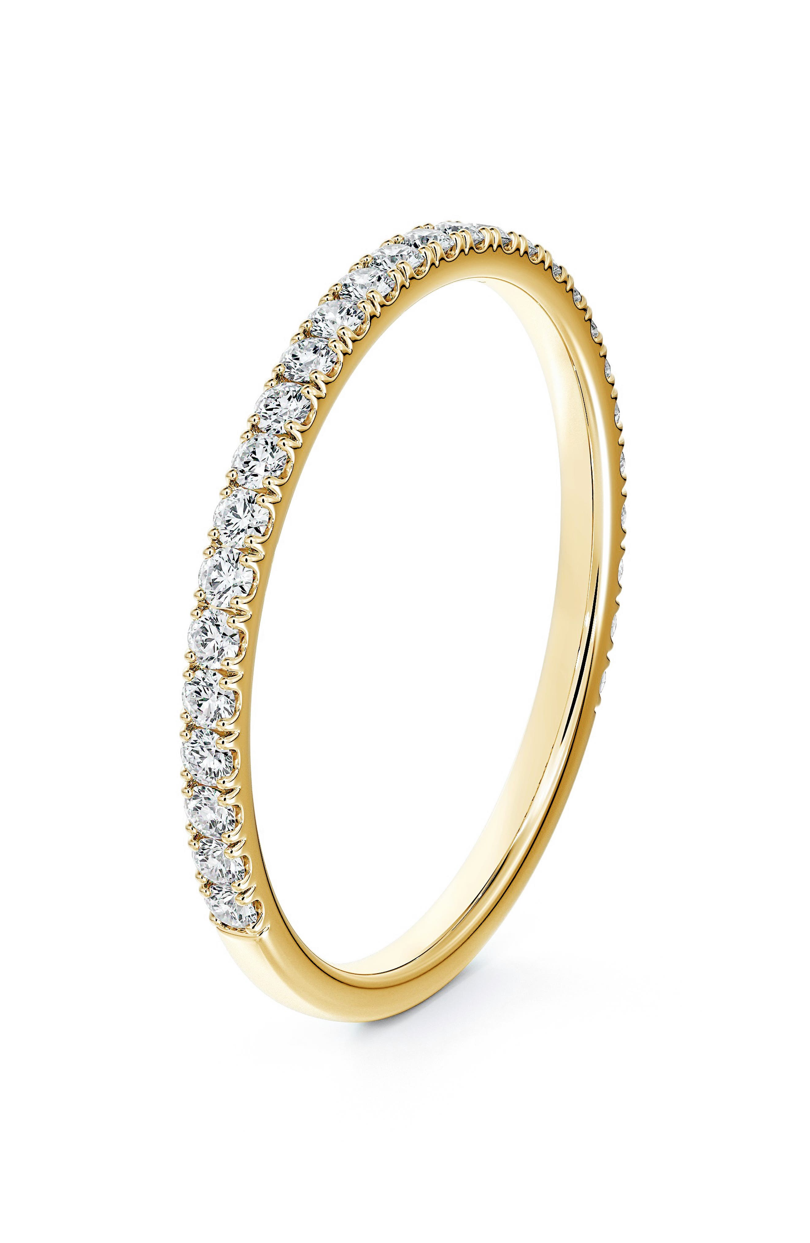 Engagement & Commitment Pave Diamond Band