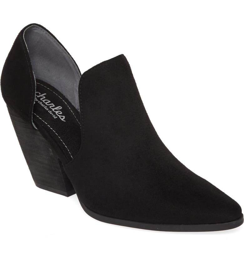 CHARLES BY CHARLES DAVID Nalani Bootie, Main, color, BLACK