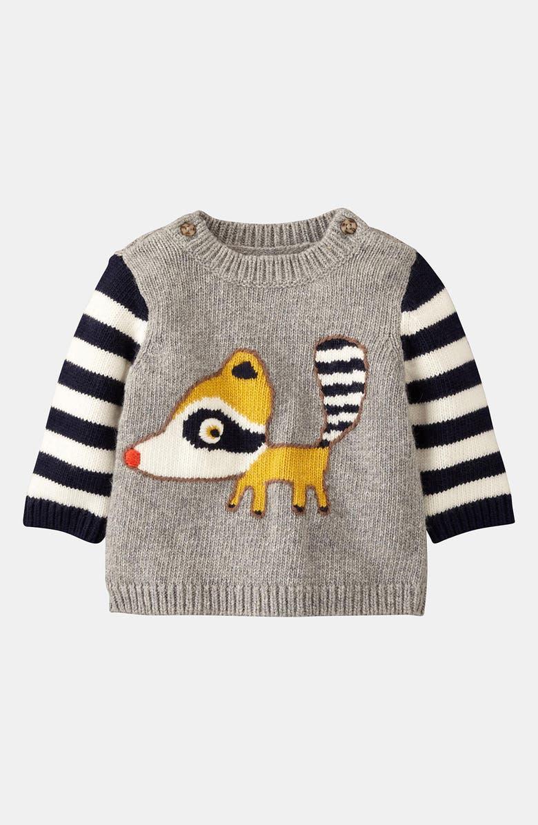 MINI BODEN 'Logo' Sweater, Main, color, 062
