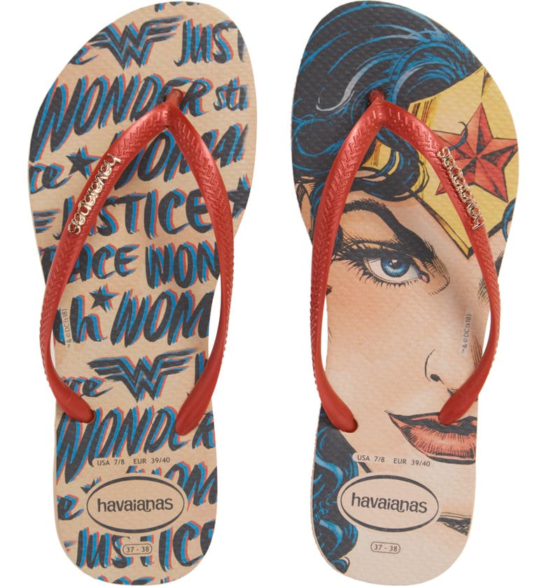 HAVAIANAS Slim Wonder Woman Flip Flop, Main, color, 250