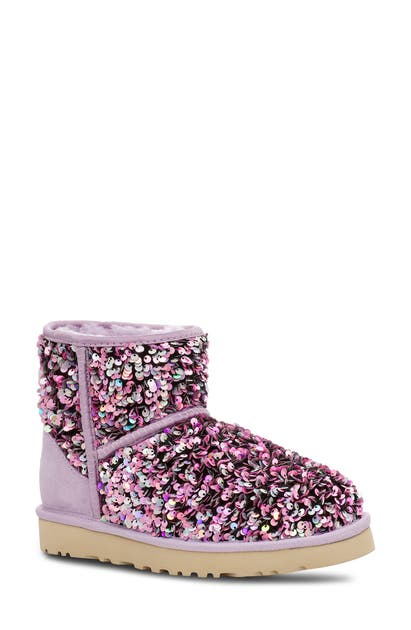 Ugg UGG MINI CLASSIC STELLAR SEQUIN BOOT