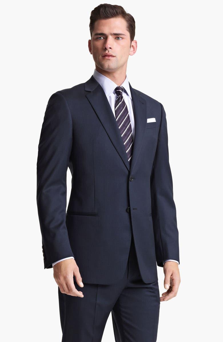 wholesale dealer 16572 7390f Armani Collezioni 'Giorgio' Trim Fit Suit | Nordstrom
