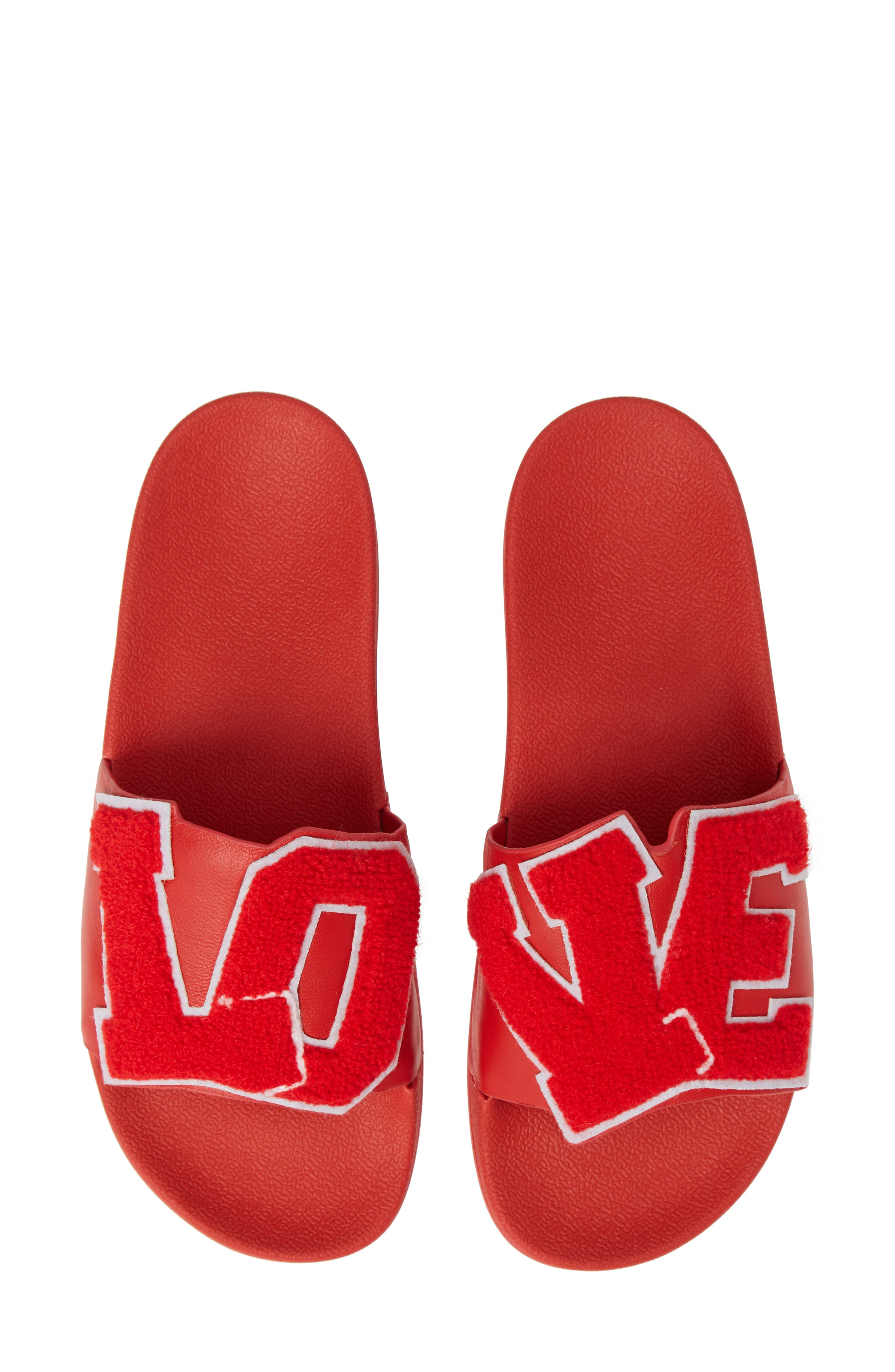,                             Love Slide Sandal,                             Main thumbnail 1, color,                             600