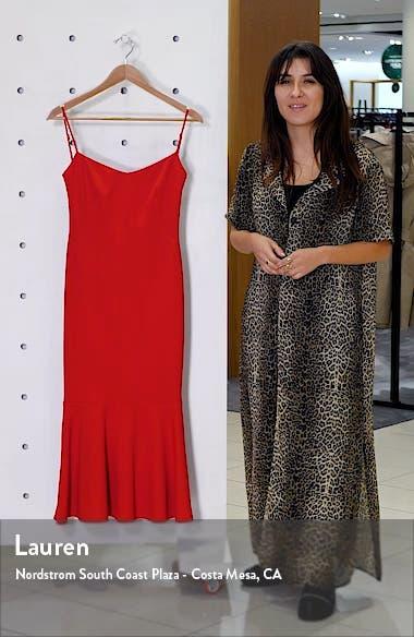 Twirl Sleeveless Drape Back Dress, sales video thumbnail