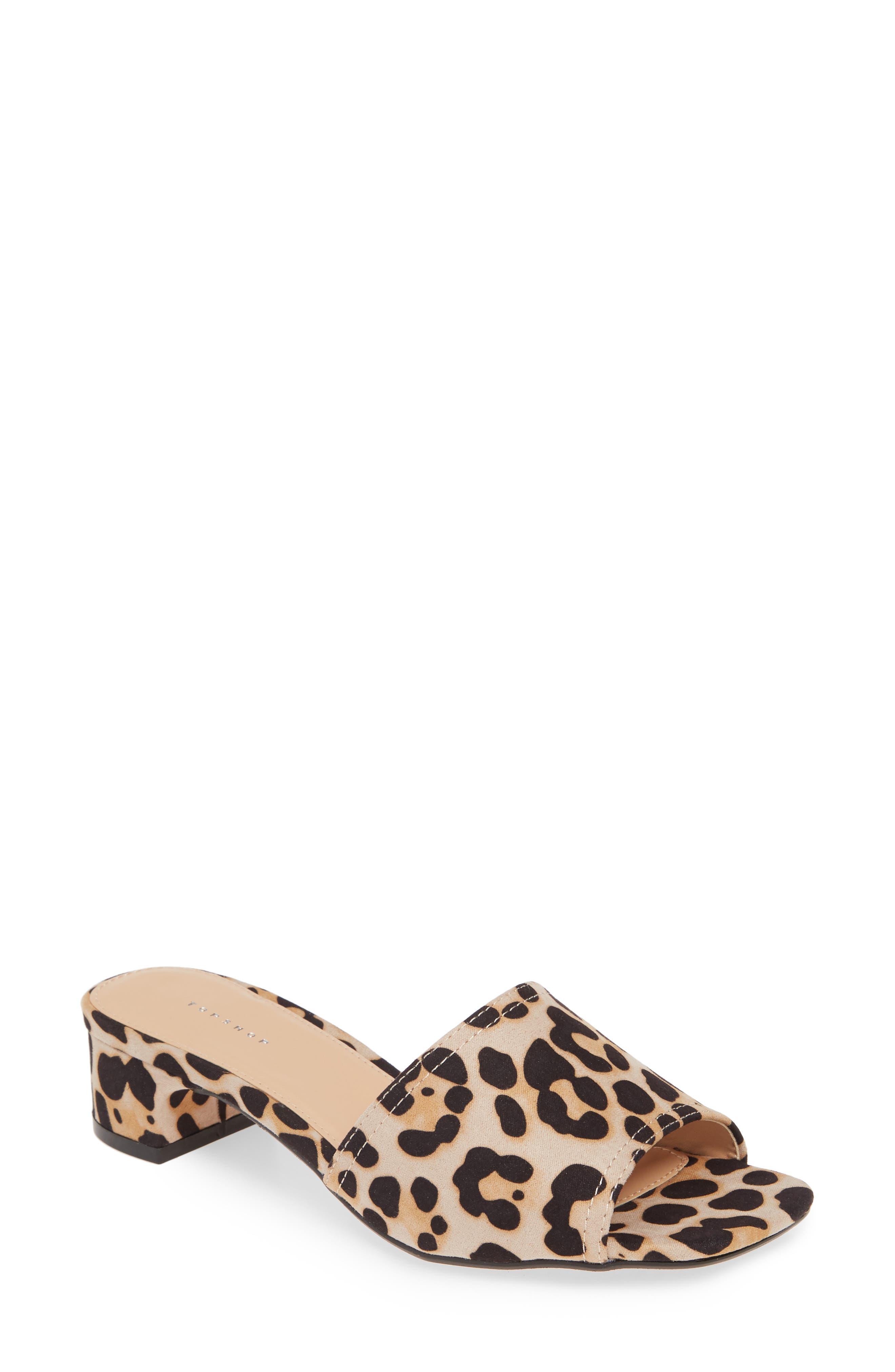Diva Slide Sandal, Main, color, BROWN MULTI