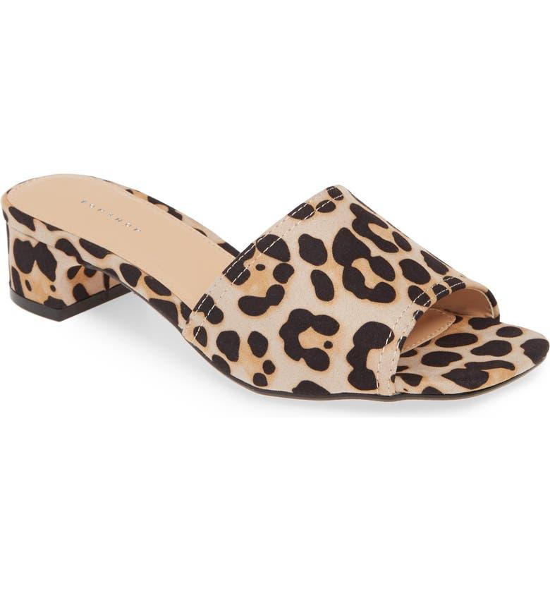 TOPSHOP Diva Slide Sandal, Main, color, 211
