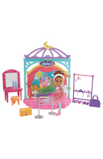 Image of Mattel Barbie Club Chelsea(TM) Doll and Ballet Playset (6-in Brunette) with Accessories