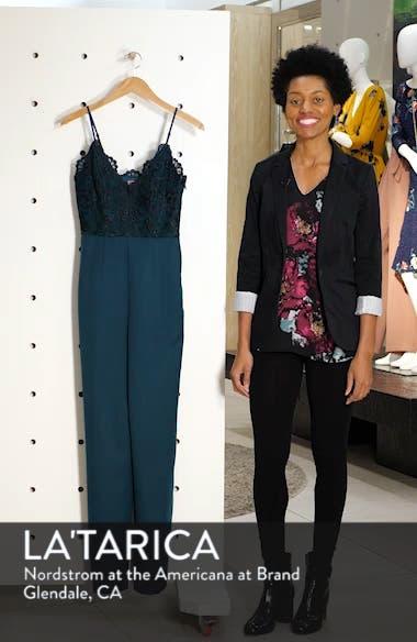 Lauren Embroidered Bodice Jumpsuit, sales video thumbnail