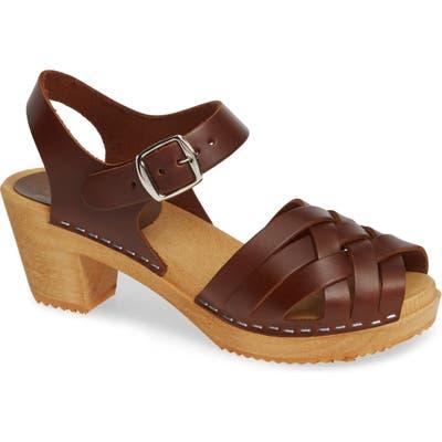 Mia Bety Clog Sandal, Brown
