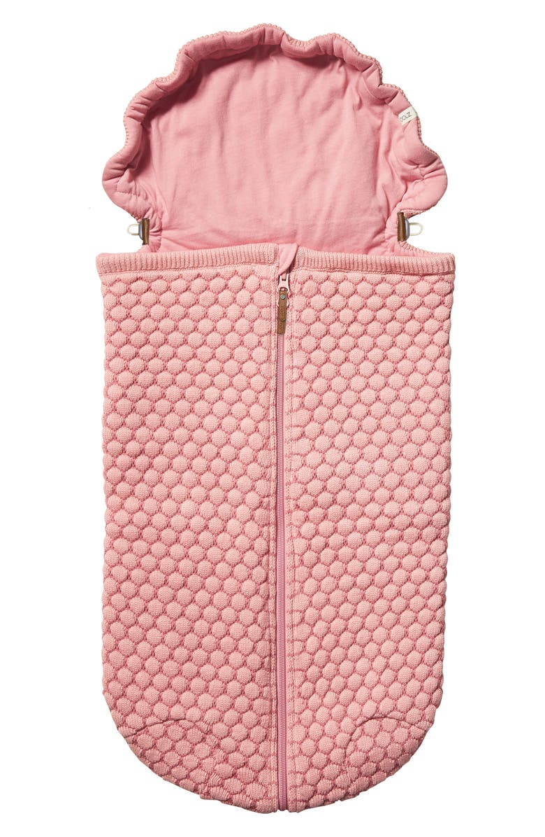 JOOLZ Essentials Honeycomb Organic Cotton Nest, Main, color, PINK