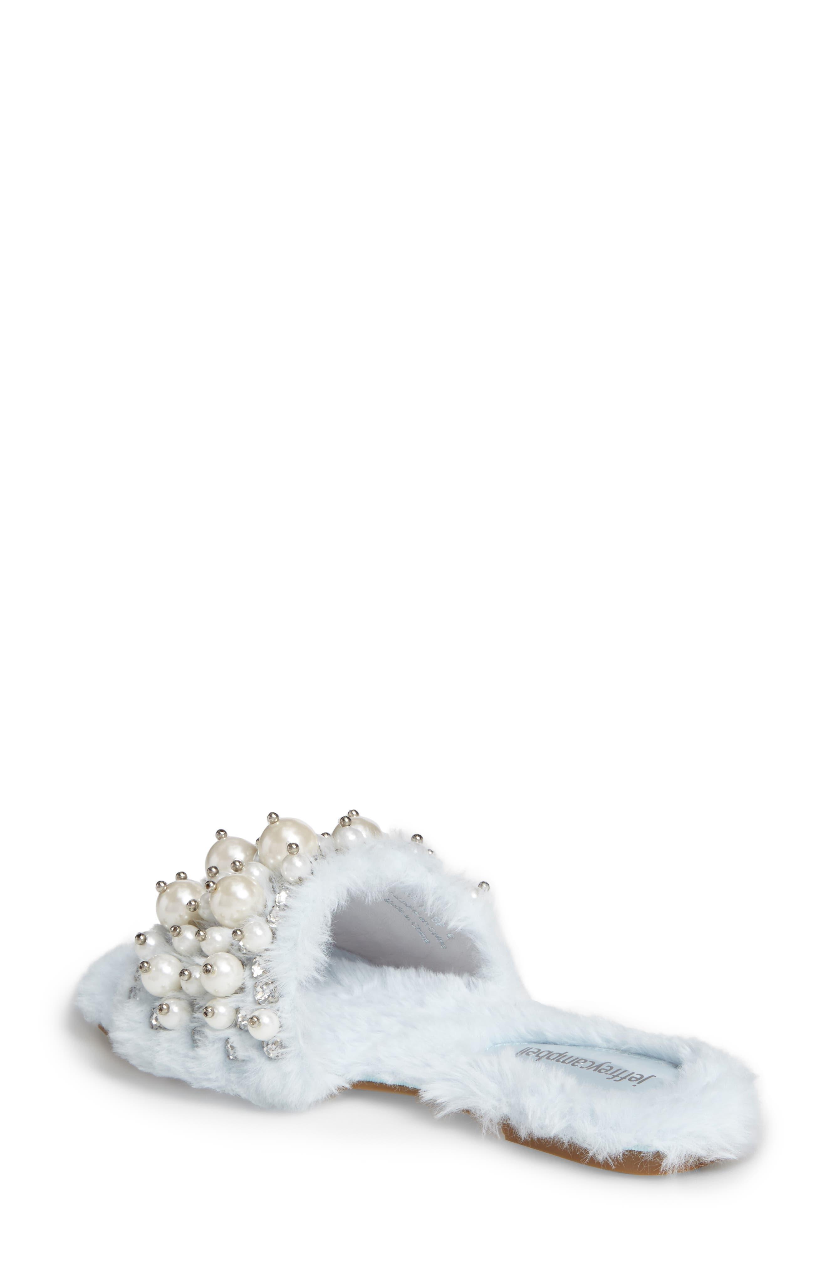 ,                             Facil Embellished Slide Sandal,                             Alternate thumbnail 20, color,                             436