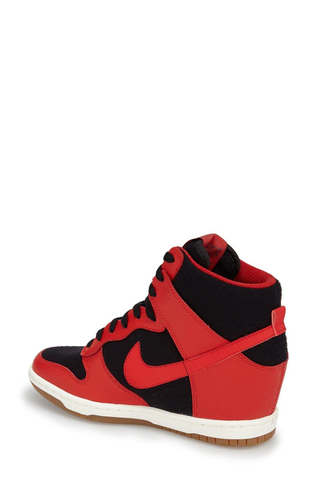 ,                             'Dunk Sky Hi - Essential' Wedge Sneaker,                             Alternate thumbnail 30, color,                             015