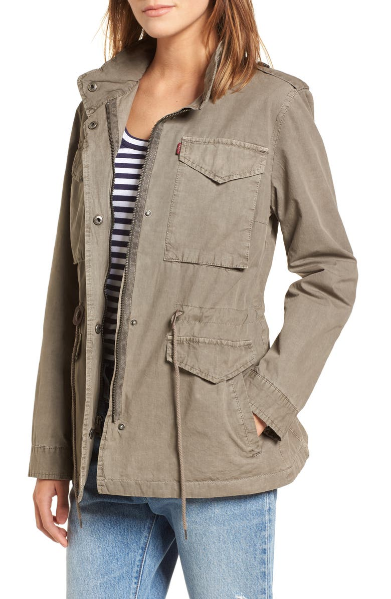LEVI'S<SUP>®</SUP> Four-Pocket Military Jacket, Main, color, 033