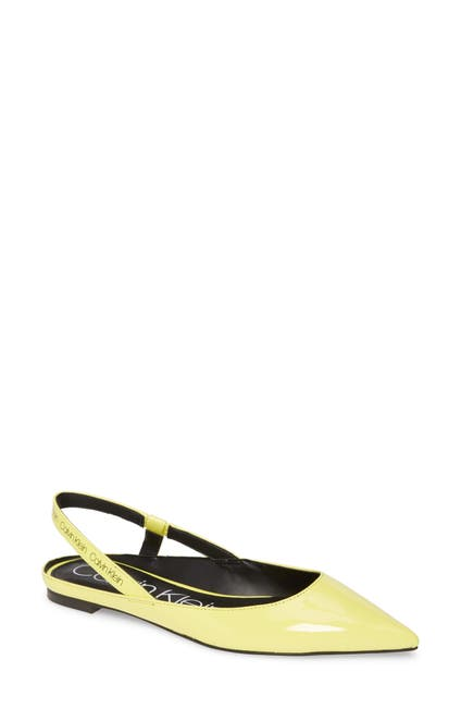 Image of Calvin Klein Maya Slingback Flat