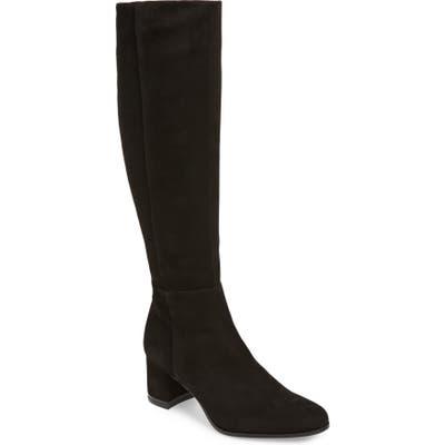 Calvin Klein Freeda Knee High Boot- Black