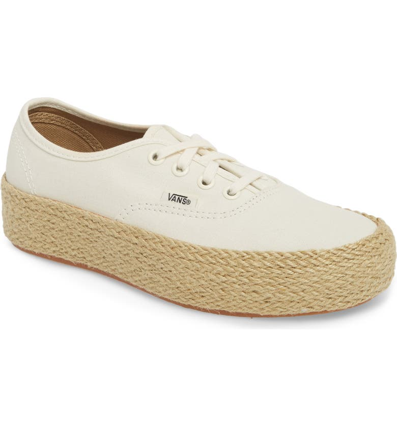Authentic Espadrille Platform Sneaker