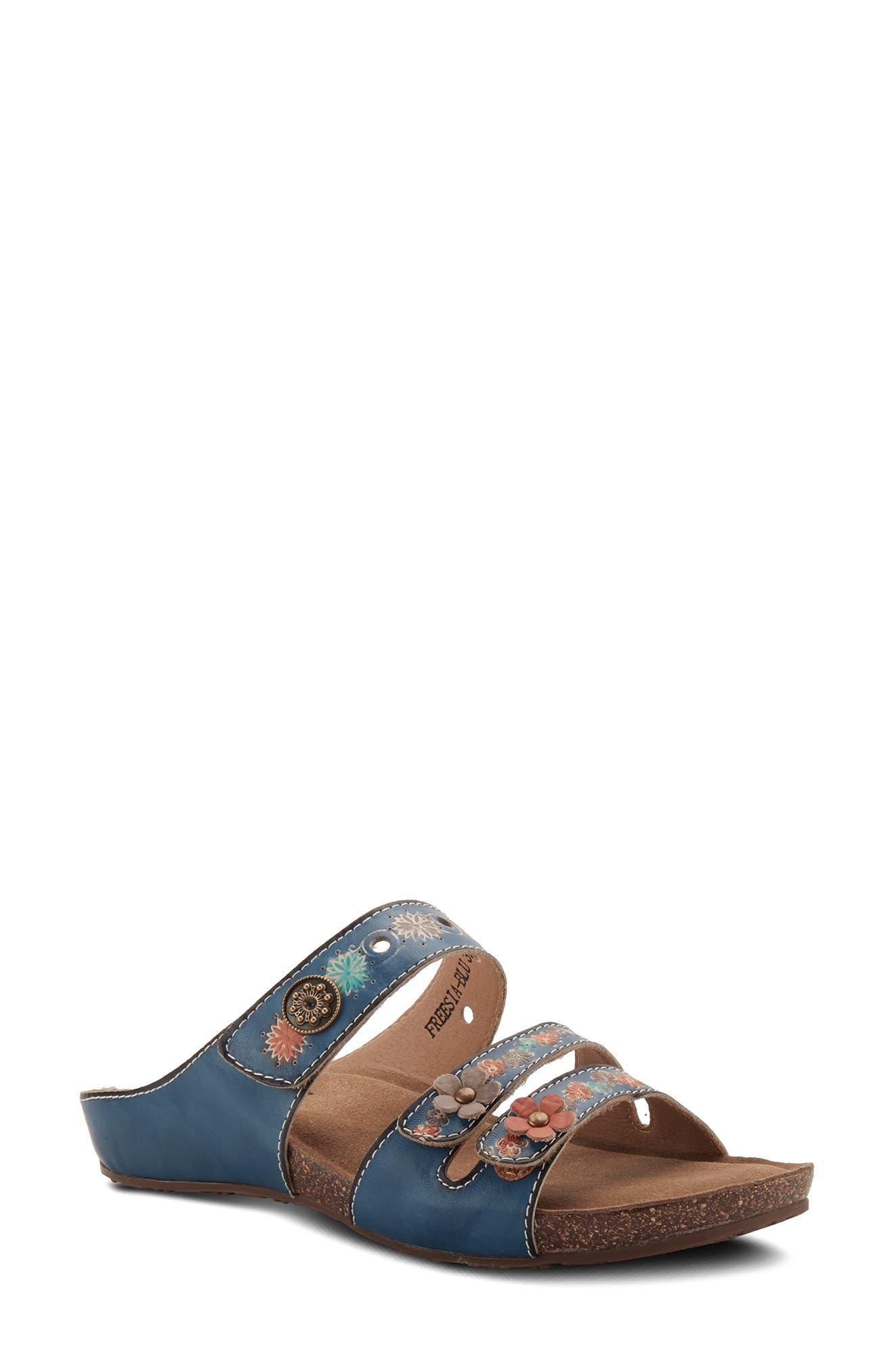 Freesia Slide Sandal