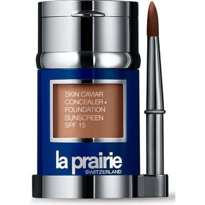 La Prairie Skin Caviar Concealer + Foundation Sunscreen Spf 15 - Golden Beige