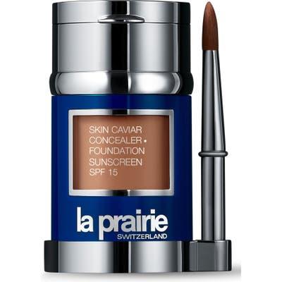 La Prairie Skin Caviar Concealer + Foundation Sunscreen Spf 15 - Golden Beige