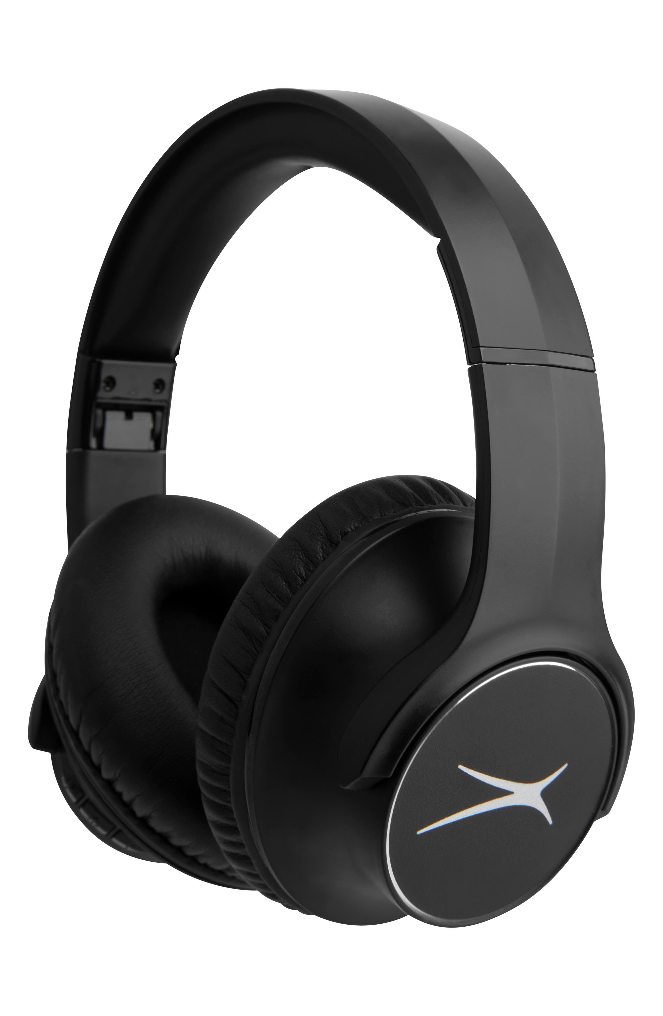 With booming bass that immerses you in impressive sound, these headphones will bring your music to a brand-new level. The comfort ear cushions and a lightweight, folding design make them the perfect travel companion. Headphone style: Over-ear with memory foam cups for all-day listening. Includes: Headphones, AUX cable and USB charging cable. Wireless connectivity: Compatible with any Bluetooth device. System compatibility: Access Siri and Google