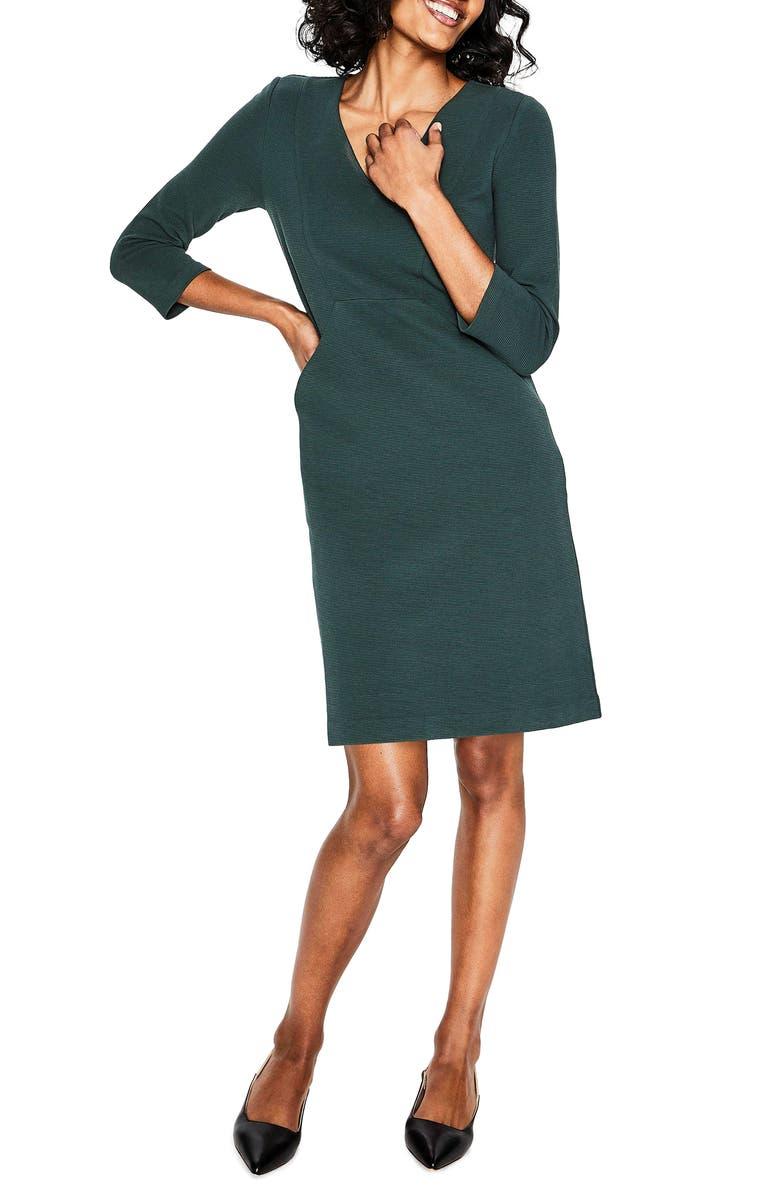 BODEN Bronte Jersey Sheath Dress, Main, color, 304