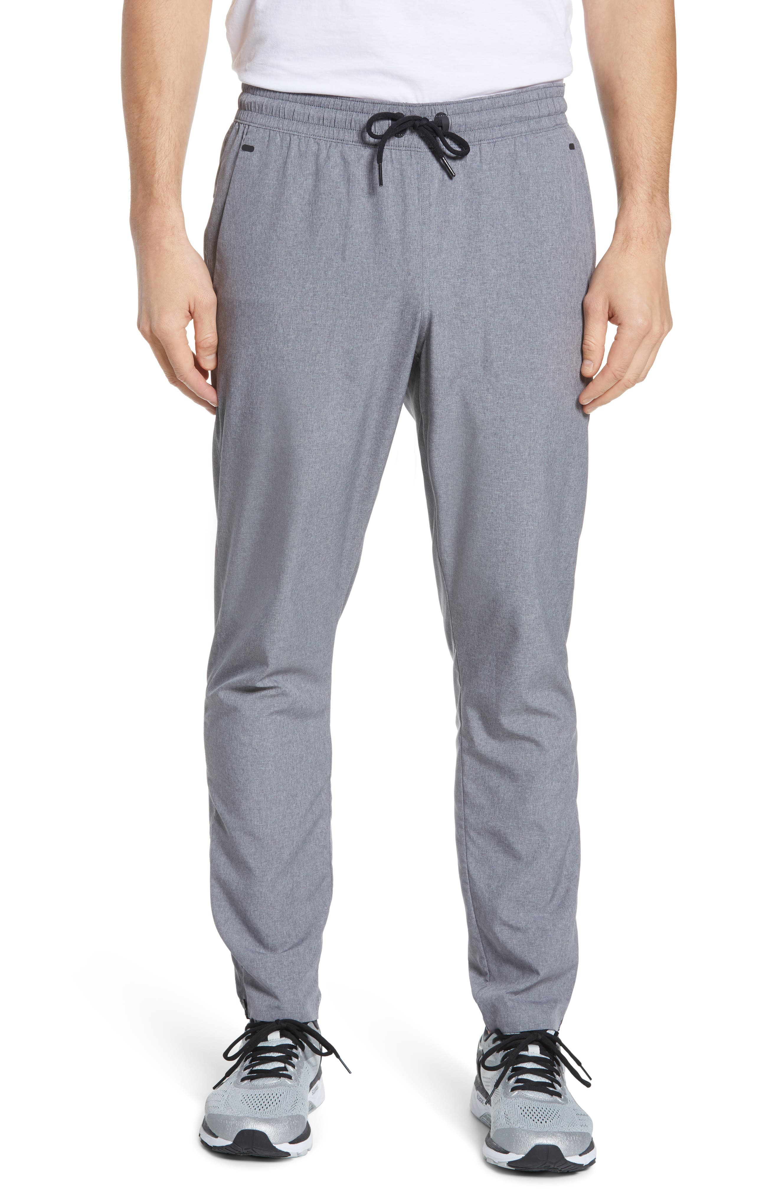 Zella Tapered Slim Fit Stretch Woven Sweatpants