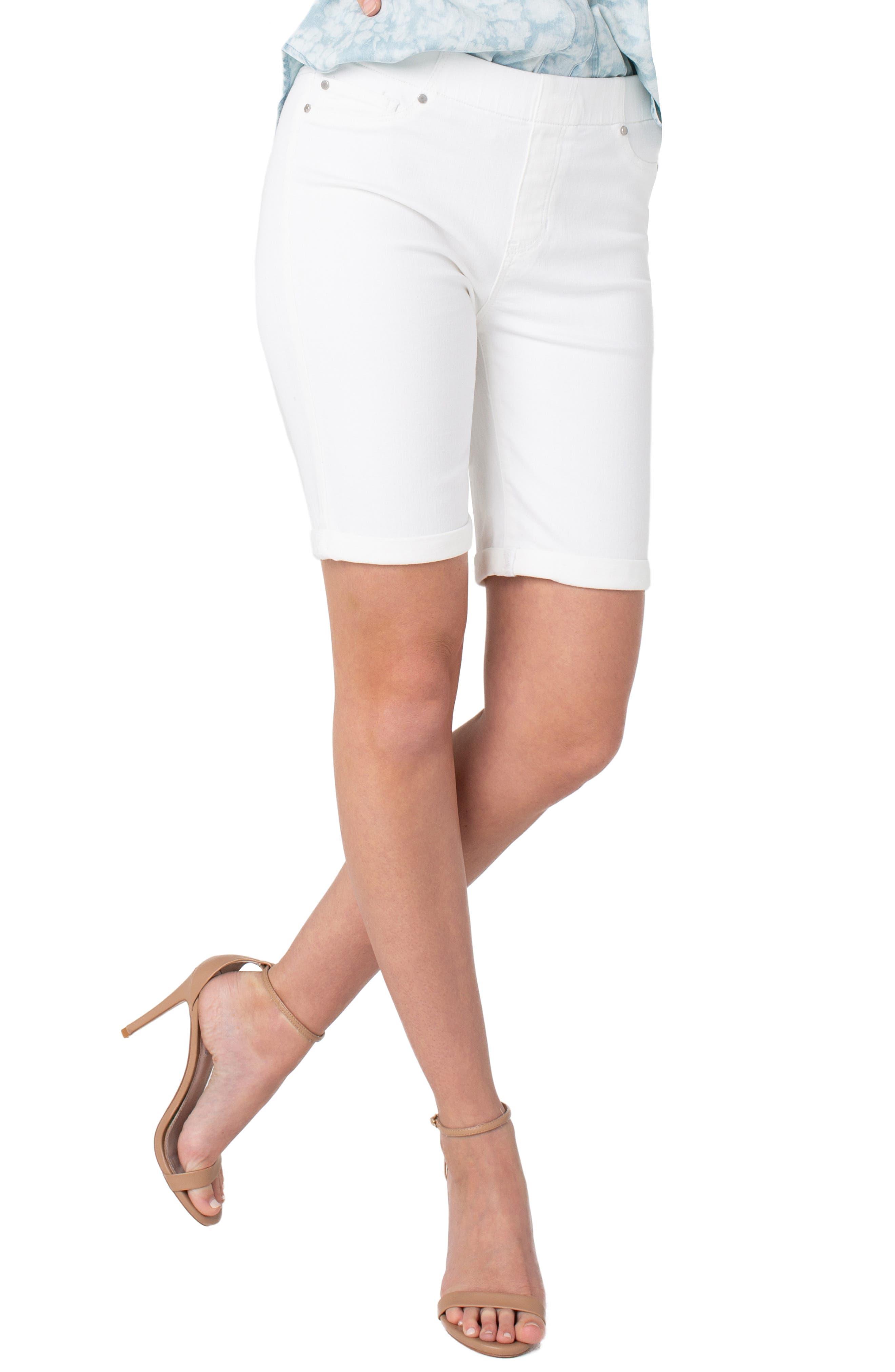 Chloe Pull-On Bermuda Shorts