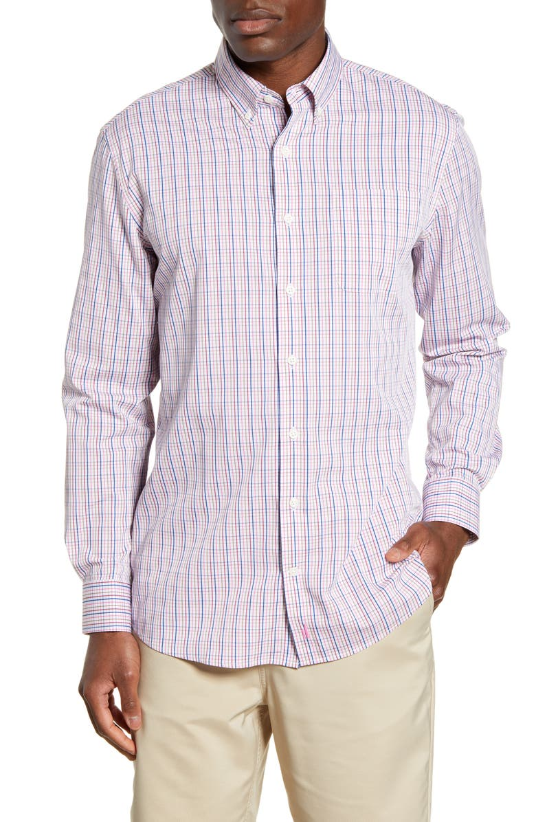 JOHNNIE-O Coleman Classic Fit Prep-Formance Button-Down Shirt, Main, color, 684