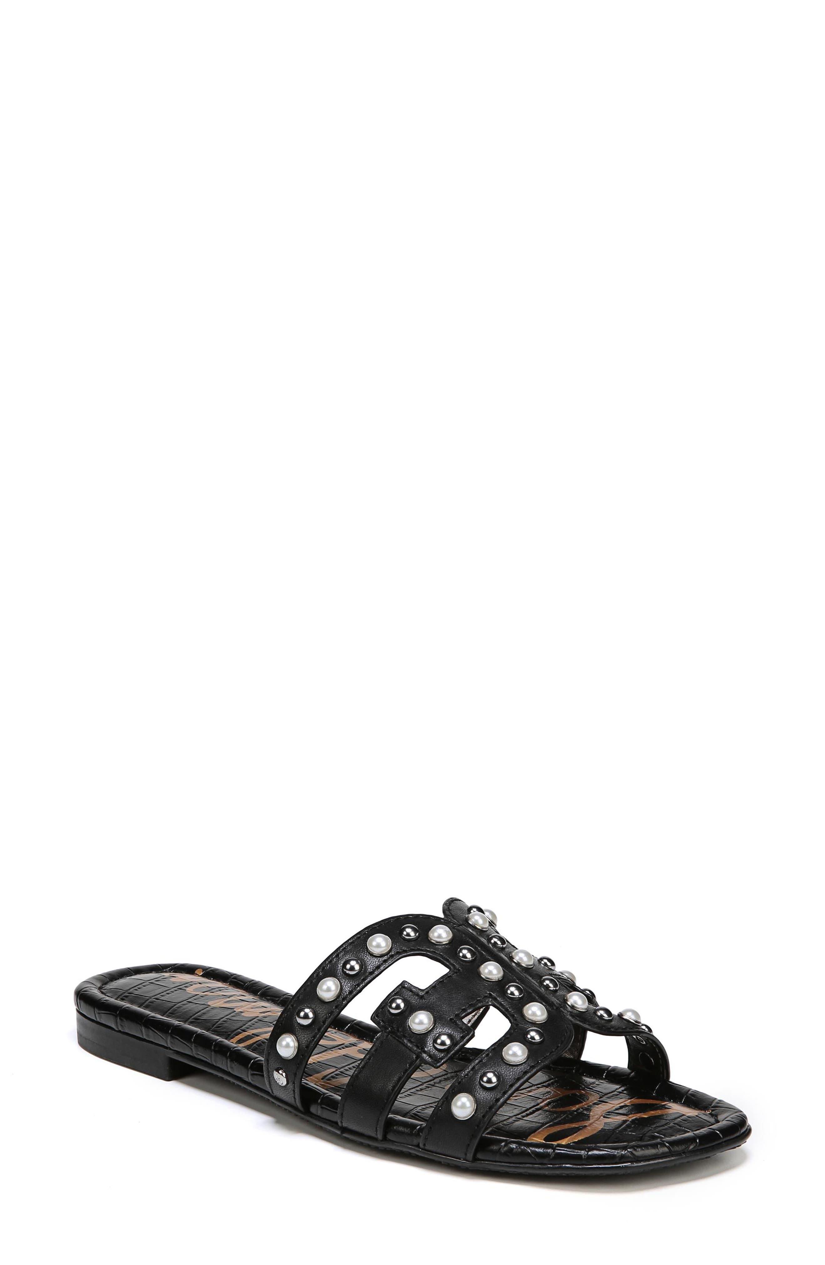 Image of Sam Edelman Bay 2 Embellished Slide Sandal