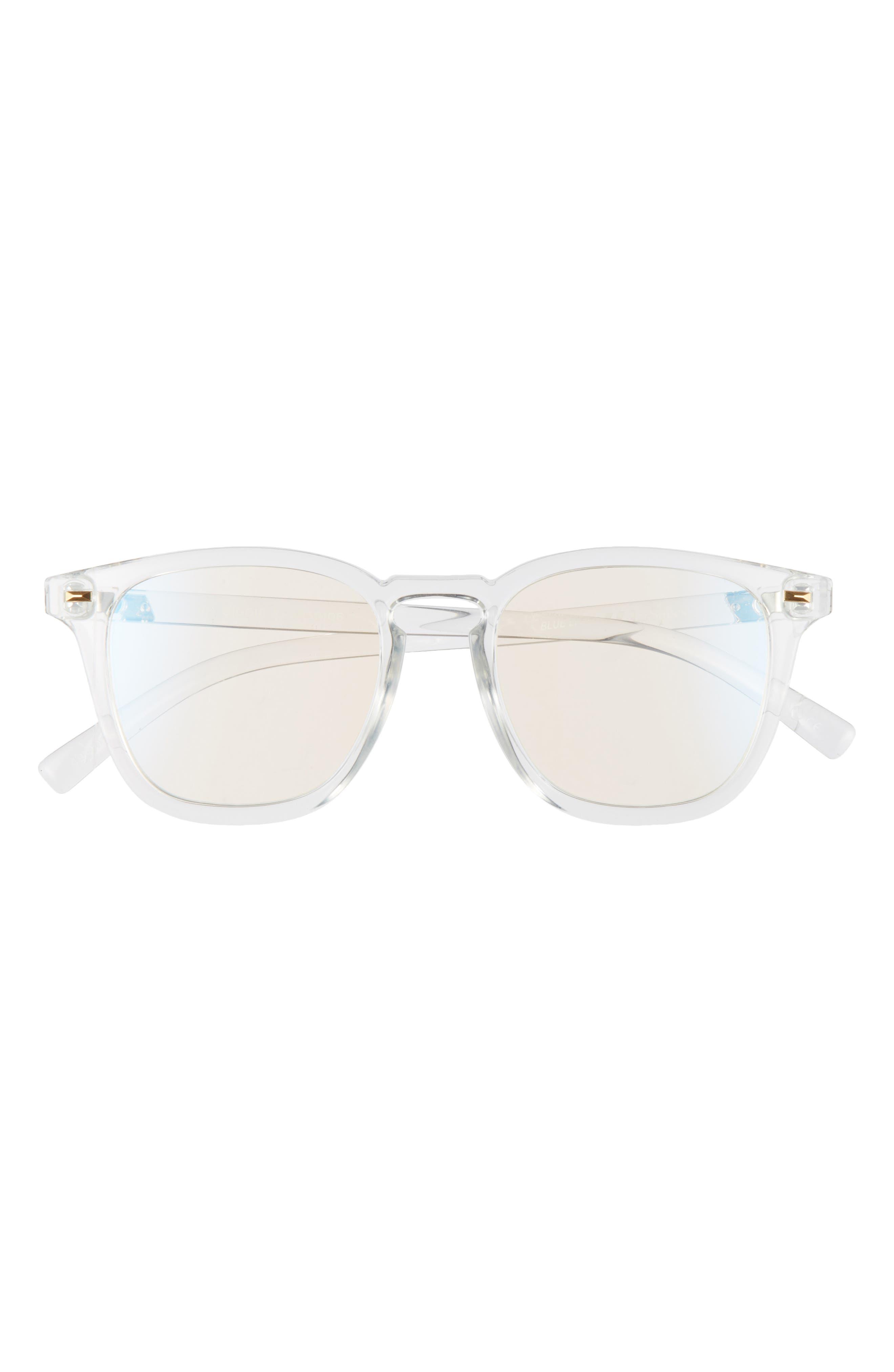 No Biggie 49mm Blue Light Blocking Glasses