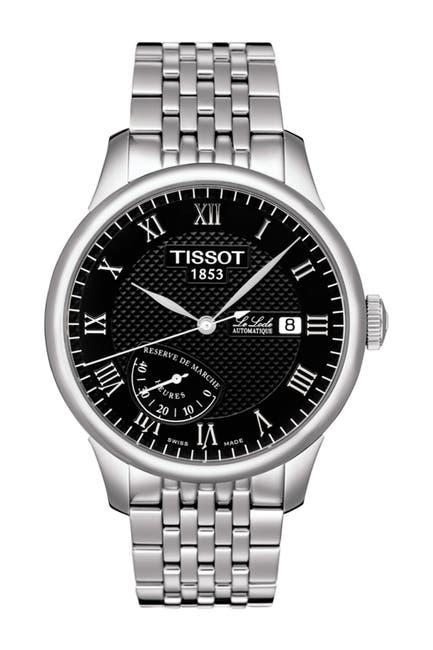 Image of Tissot Men's Le Locle Automatic Bracelet Watch, 39.3mm