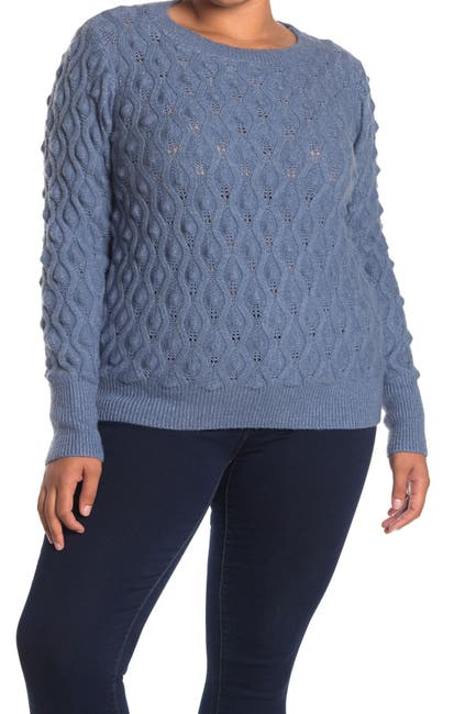 Image of Sweet Romeo Popcorn Pullover Sweater