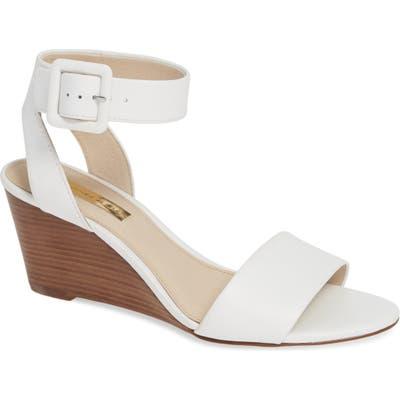 Louise Et Cie Punya Wedge Sandal- White