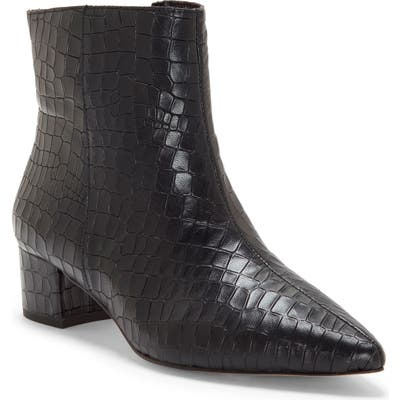 Cc Corso Como Freen Pointy Toe Bootie- Black