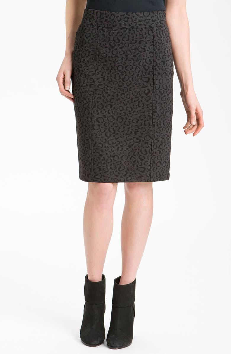NYDJ Print Ponte Skirt, Main, color, 058