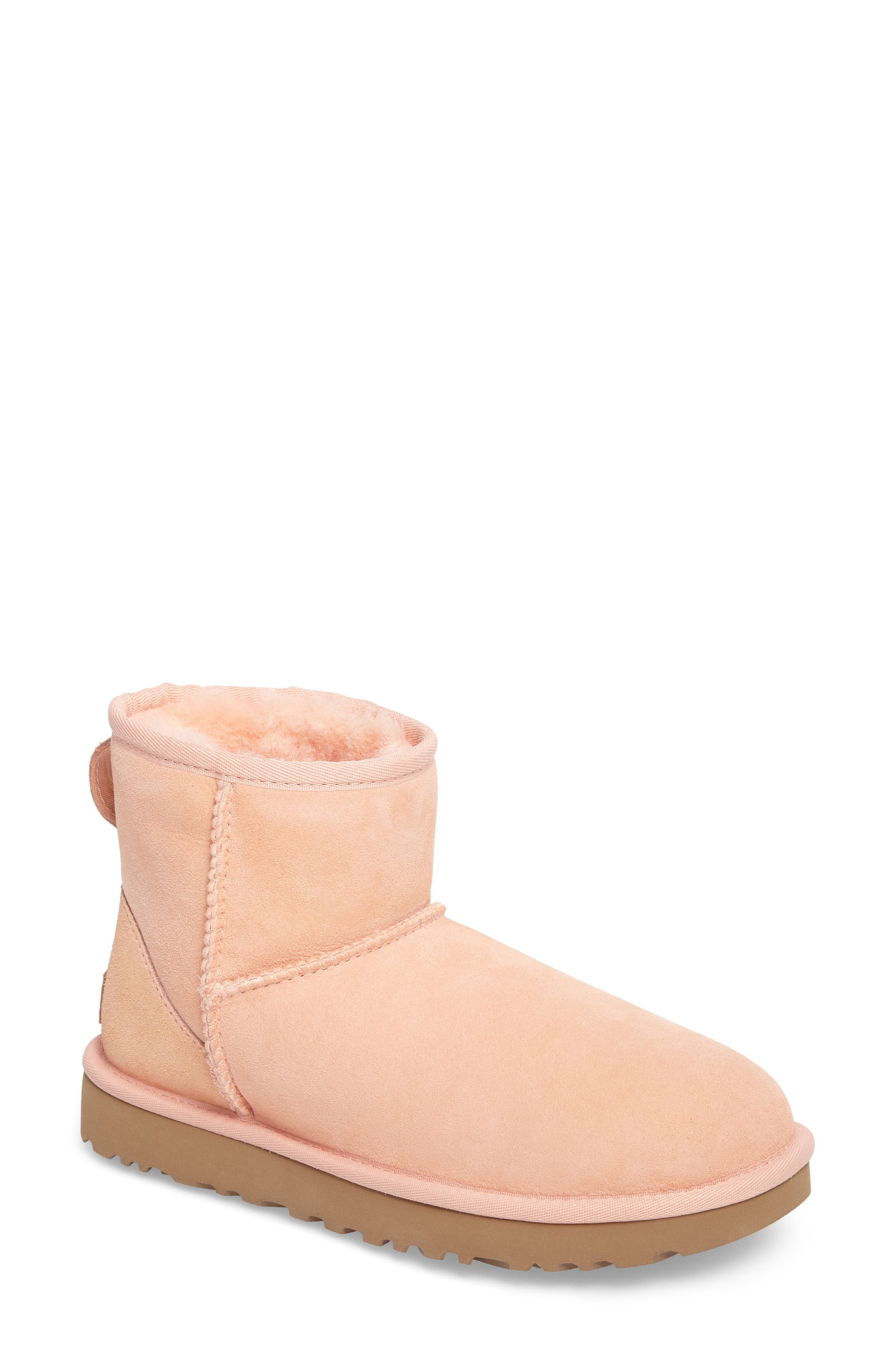 ,                             Classic Mini II Genuine Shearling Lined Boot,                             Main thumbnail 97, color,                             950