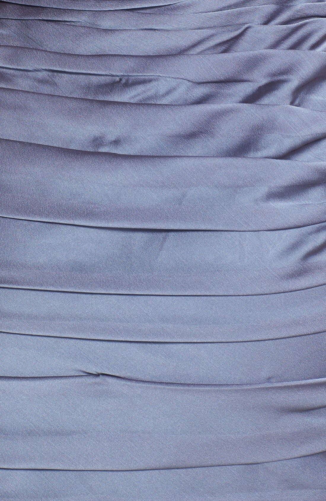,                             Ruched Strapless Cationic Chiffon Dress,                             Alternate thumbnail 13, color,                             022