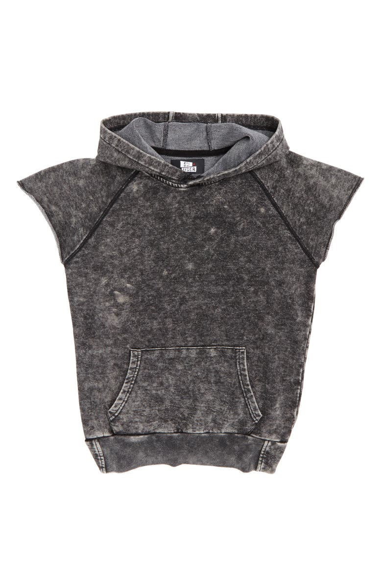 5TH AND RYDER Sleeveless Hoodie, Main, color, 001